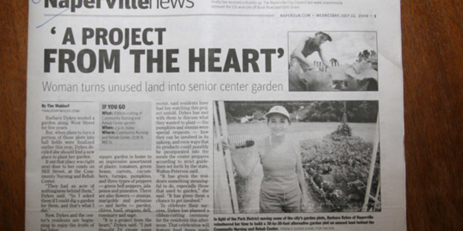 Home garden project foundation